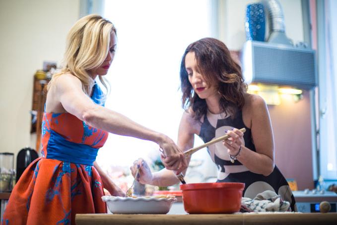 cucina con justine mattera e a gipsy in the kitchen: torta di mele ... - In Cucina Con Amore