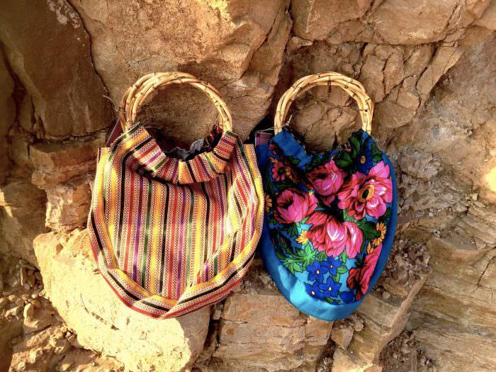 Una coppia di borse con manici rigidi di Tribalogy | Ricucire il filo del destino, Tribalogy | A Gipsy in the Kitchen