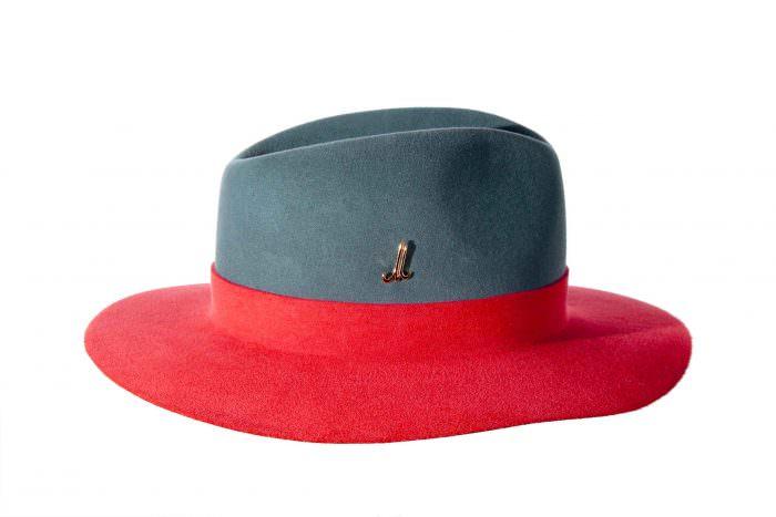 Cappello bicolore Muehlbauer | San Valentino in Stile | A Gipsy in the Kitchen