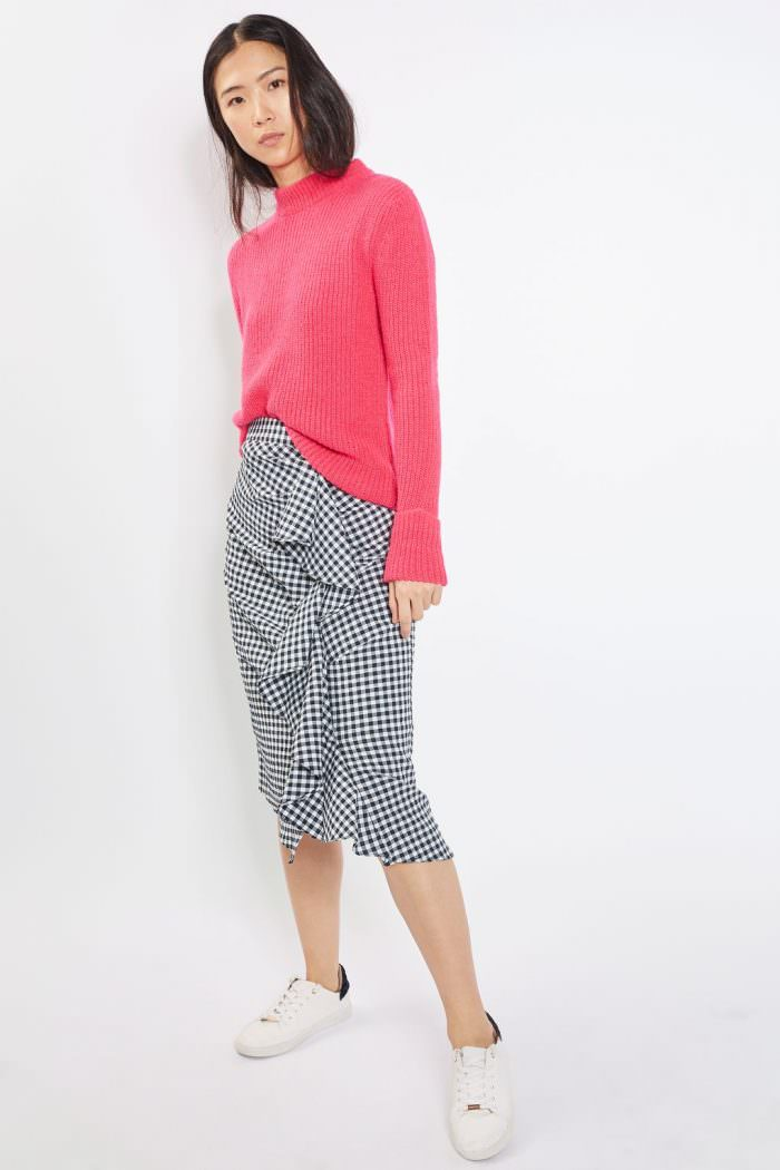 topshop gonna gingham e pull SS17   Bentornati a Oz: la favola della stampa Gingham   A Gipsy in the Kitchen