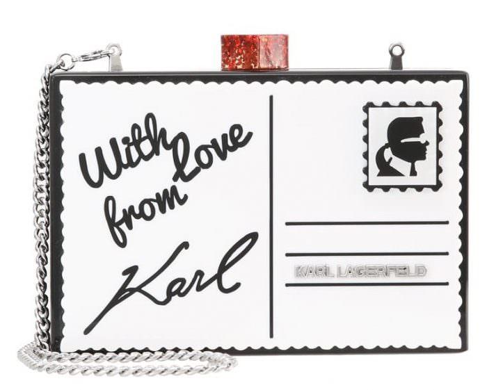 Pochette Karl Lagerfeld su zalando | Bentornati a Oz: la favola della stampa Gingham | A Gipsy in the Kitchen