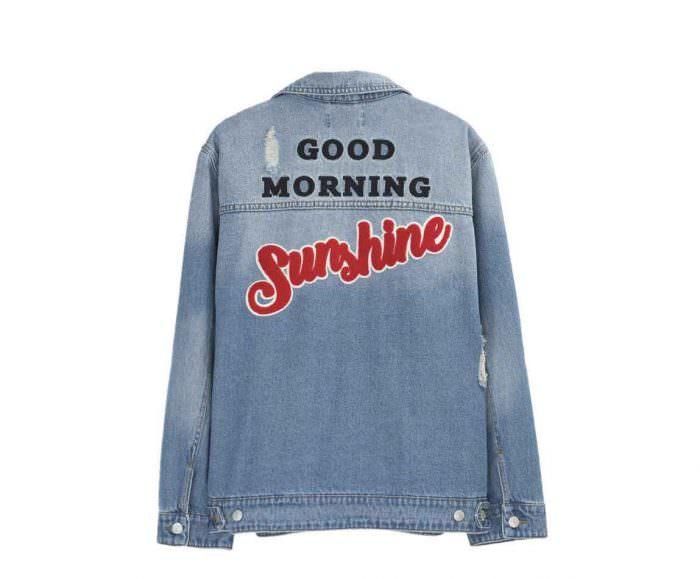 pimkie giacca donna denim ricamata sulla schiena | Summer Camp | A Gipsy in the Kitchen