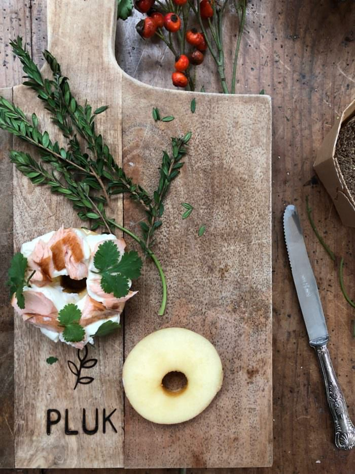 Bagel di Mela con salmone affumicato | A Gipsy in the Kitchen