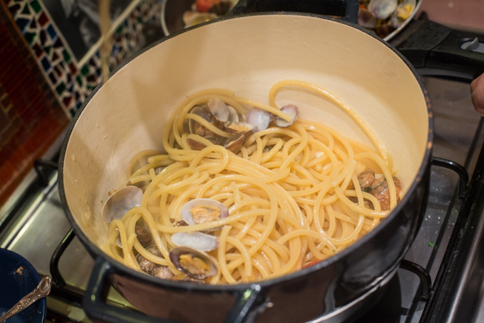 Karma, vongole e Ribolla gialla | A Gipsy in the Kitchen