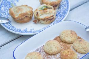 Una Pasqua Vegetariana. Le polpette di ricotta. | A Gipsy in the Kitchen