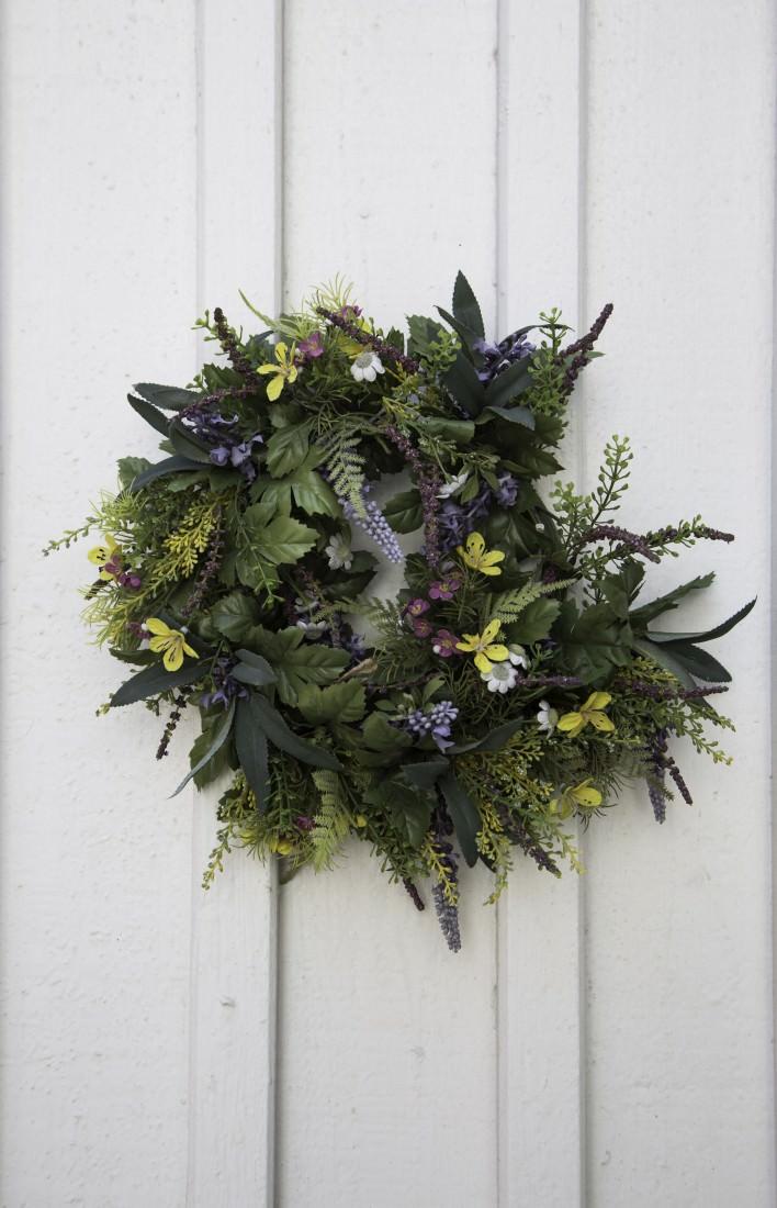 Corona di fiori  | Voglio rinascere svedese. Goteborg e dintorni. Giorni 3, 4 e 5 | A Gipsy in the Kitchen