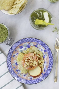 Tartare di salmone su pane carasau | A Gipsy in the Kitchen