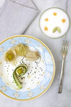 Rotoli di zucchina con ricotta invecchiata | A Gipsy in the Kitchen