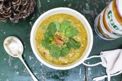 06 | Dahl di lenticchie, coriandolo e zenzero | A Gipsy in the Kitchen