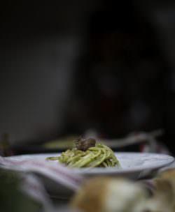 07   Linguine con noci e acciughe   A Gipsy in the Kitchen