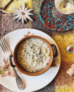 Risotto allo spumante | A Gipsy in the Kitchen