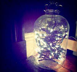 Come usare le luci di Natale tutto l'anno   A Gipsy in the Kitchen
