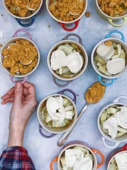 Crumble di finocchi e formaggio di capra | A Gipsy in the Kitchen
