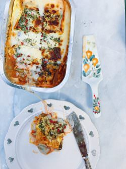 Lasagne vegetariane | A Gipsy in the Kitchen