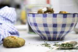 03 | Fritters di piselli al forno | A Gipsy in the Kitchen