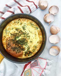 La frittata di menta al forno | A Gipsy in the Kitchen