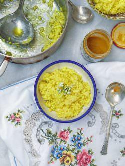 Riso bollito, curcuma e rafano | A Gipsy in the Kitchen