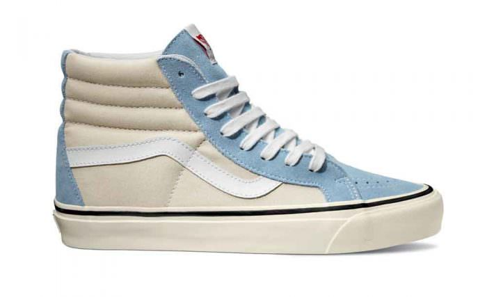 Vans sneaker donna alta Sk8-Hi Slim estate 2017 azzurra | Summer Camp | A Gipsy in the Kitchen