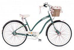 Electra bicicletta verde modello gipsy