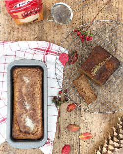 Cinnamon Sugar Pumpkin Bread | A Gipsy in the Kitchen