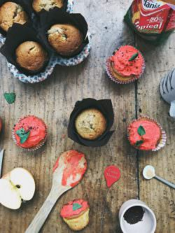 Cupcakes di mela | A Gipsy in the Kitchen