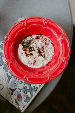 Risotto champagne e melagrana | A Gipsy in the Kitchen