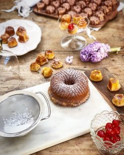 Bundt cake vaniglia e zenzero | A Gipsy in the Kitchen