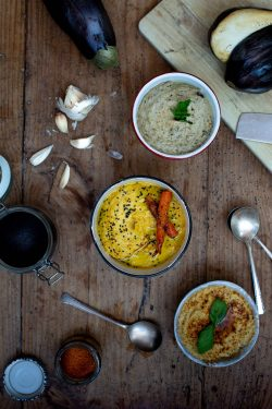Hummus e Babaganoush | A Gipsy in the Kitchen