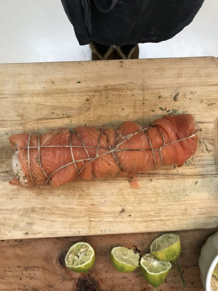 Arrosto di merluzzo e salmone affumicato | A Gipsy in the Kitchen
