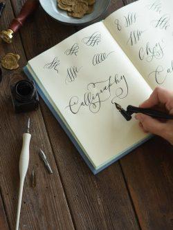 supper club calligrafia